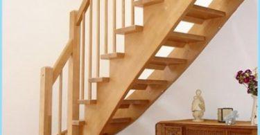 Stringers für Treppen mit seinen Händen