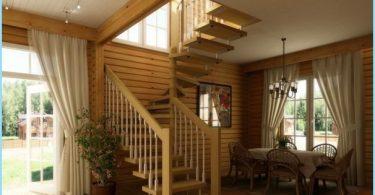 Wie man eine Wendeltreppe in den zweiten Stock, Dachboden machen