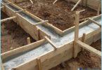 Die Proportionen des Betons für die Gründung