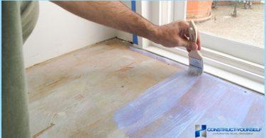 Wie und was den Boden zu malen