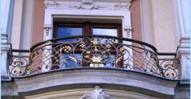 geschmiedete Balkone