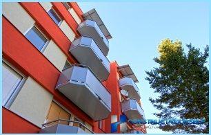 Die Unterschiede zwischen dem Balkon und Loggia