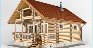Projekte mit Bad und Terrasse Häuser
