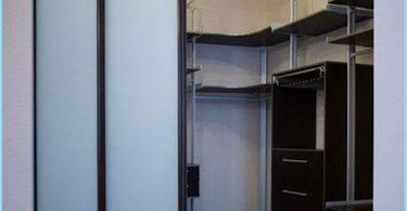 Lage der Regale in der Umkleidekabine