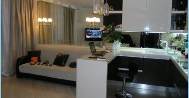 Design Wohnzimmer 30 40 Qm Mit Kuche Fotos