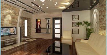 Deckengestaltung für das Wohnzimmer