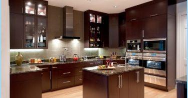 Die Küche im amerikanischen Stil