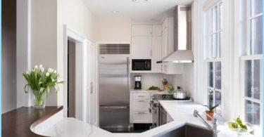 kleine Küche Innenarchitektur