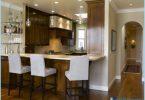 Küche mit Theke: Modernes Design