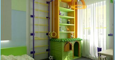 Sportanlage in das Kinderzimmer