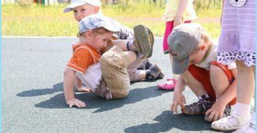 Gummikrümel Beschichtung für Kinderspielplätze