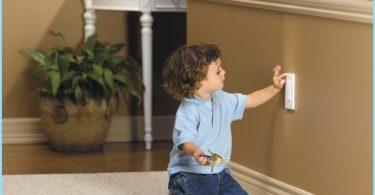 Typische Schaltplan der Verkabelung im Haus
