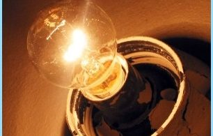 Gründe Flimmern von Licht in der Wohnung