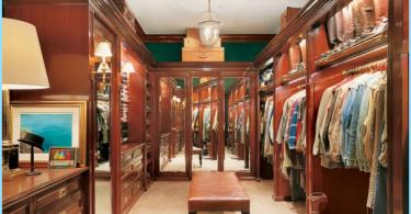 Varianten der Innenraumgestaltung und eine große Garderobe