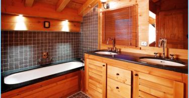 Wie das Bad in einem Holzhaus zu machen