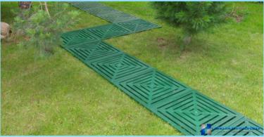 Gartenwege Kunststoff