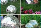 Die Verwendung von Glas für die Gartenwege: Glas Multicolor
