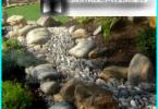 Dry Creek mit seinen Händen in den Garten und auf dem Land - eine Schritt für Schritt-Gerät