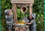 Kunststoff-Fliese für Gartenwege: die Fliese besser ist, in den Garten zu setzen