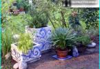 Live-Bower der Baumstämme: wie man einen Rahmen Pavillon wachsen