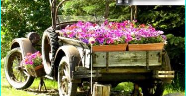 Wie man einen Garten Schubkarre mit seinen eigenen Händen zu machen: von der Installation Zeichnung