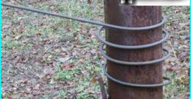 Vorrichtung zur Durchführung Brennholz: mit Brennholz mit ihren Händen