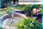 Dekorative Brunnen mit seinen eigenen Händen auf dem Land und in den Garten - Schritt für Schritt Anleitung