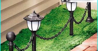 Wasserlandhaus und Garten aus dem Brunnen: Schema Anweisung +
